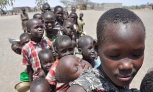 MDG : drought and famine in Horn of Africa, Turkana crisis in Kenya