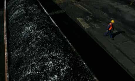 Damian blog : coal in Poland : the Wieczorek coal mine