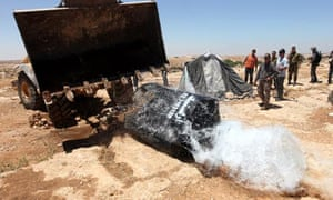 Israeli military remove water pipes and cisterns near West Bank city of Hebron