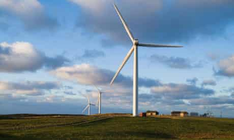 Green technologies for Orkney :  Nordex N80 wind turbines on Orkney