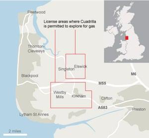 Blackpool oil shale reserves