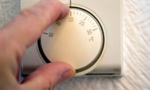 Leo Blog :  Energy bills : Turning central heating thermostat