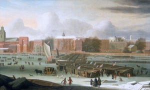 Duncan FAQ on  Little Ice Age  : A Frost Fair on the Thames at Temple Stairs