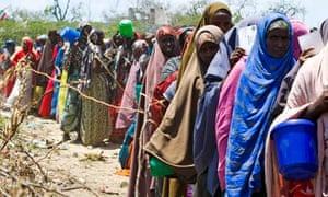 MDG : Horn Of Africa famine : IDP camp in Mogadishu, Somalia