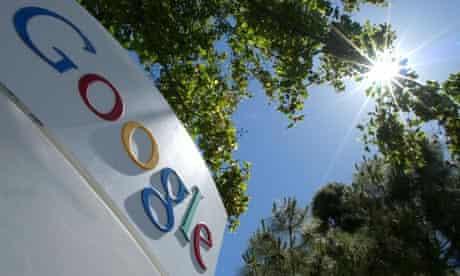 Google's headquarters in Mountain View, California