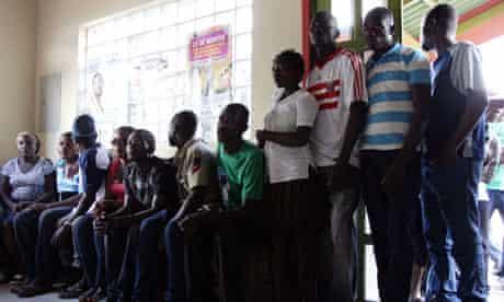 MDG : Haiti : Haitian immigrants in Brazil