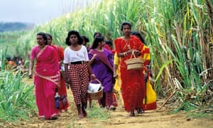 MDG : Mauritius women during an Indu ceremony