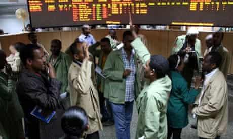 MDG : Ethiopia fragile state : UK Dfid helps to set an Ethiopia Commodity Exchange