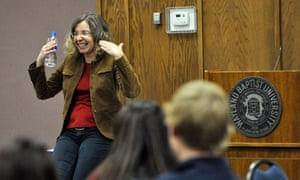 Evangelical Christian Katharine Hayhoe spreads the word on climate change