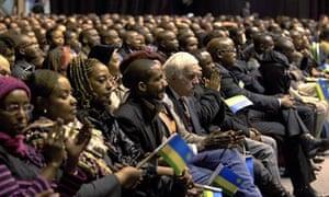 MDG : Rwanda : Rwandan community in Brussels