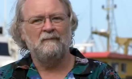 Founder the San Francisco based geoengineering firm Planktos Inc.  Russ George