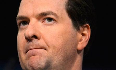 Britain's Chancellor of the Exchequer, George Osborne