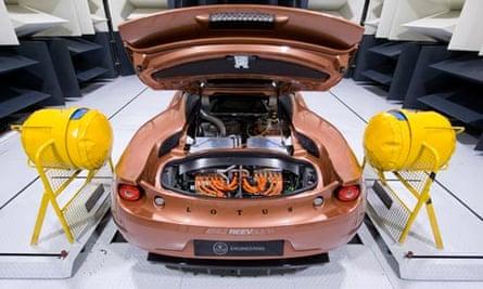 The Lotus Evora 414E Hybri