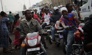 MDG : UNFPA on state of World Population : youth in Goma, DRC, Democratic Republic of the Congo
