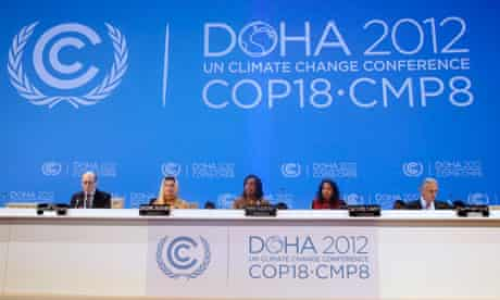Cop18 Doha : opening session of the United Nations Climate Change