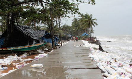 MDG : Natural disaters : Sea level rising and floods in Thailand