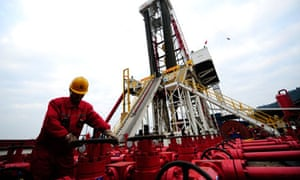 Shale gas in China : natural gas appraisal well of Sinopec in Langzhong county, Sichuan
