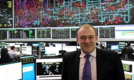 Leo blog on Energy Bill : Energy Secretary Ed Davey visits Electricity National Control Centre