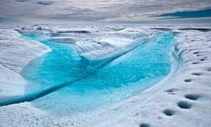 Polar Ice Sheets : Greenland ice sheet melt
