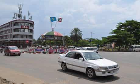 MDG : Burundi A view of Bujumbura's Place de l'Independence