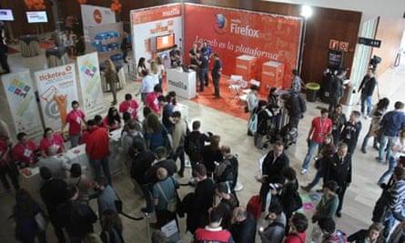 MDG : EBE12 social media gathering in Seville, Spain
