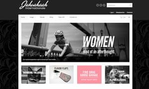 bike blog : Screen grab of Jahvahaal Internationale team JVA (jensvoigtsarmy) home page