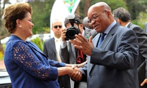 MDG : Emerging economies IBSA : Dilma Rousseff and Jacob Zuma