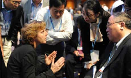 COP18 Doha : Connie Hedegaard and Zhenhua Xie