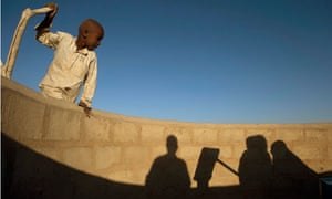 MDG : Water pump : drought and food crisis in Chad