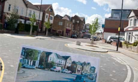 New traffic calming scheme by Sustrans and Haringey Council in Turnpike Lane area