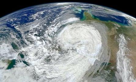 Satellite Eye on Earth : Hurricane Sandy