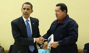 MDG : Hugo Chavez offers The Open Veins of Latin America written by Eduardo Galeano to Barack Obama