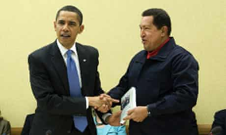 MDG : Hugo Chavez offers The Open Veins of Latin America written by Eduardo Galeano to Barack Obama