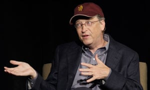 Microsoft Corp. chairman Bill Gates speaks at a breakfast hosted by Climate Solutions in Seattle
