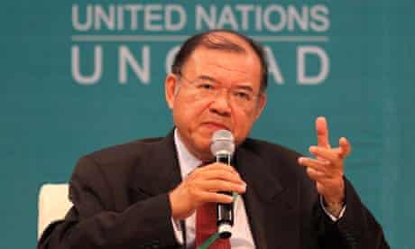 Mdg : The secretary-general of UNCTAD Supachai Panitchpakdi Doctor