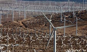 Leo blog on wind energy : wind turbines At the San Gorgonio Pass Windfarm