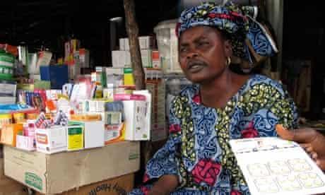 MDG : Benin : malaria drugs