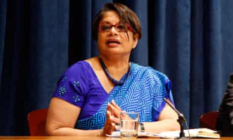MDG : Radhika Coomaraswamy UN Special Representative for Children and Armed Conflict