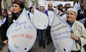 MDG : Alternative world water forum in Marseille during 6th World Water Forum