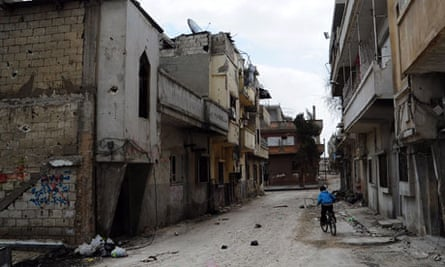 MDG : Syria : Humanitarian Corridor : Fighting aftermath in the Baba Amr area in Homs