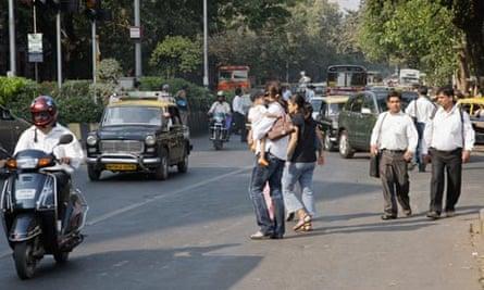 MDG : Road safety in Mumbai, India