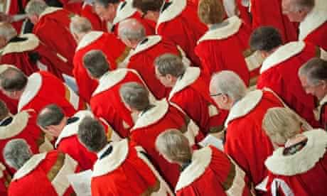 MDG : Members of the house of lords