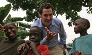 MDG : George Osborne in Uganda