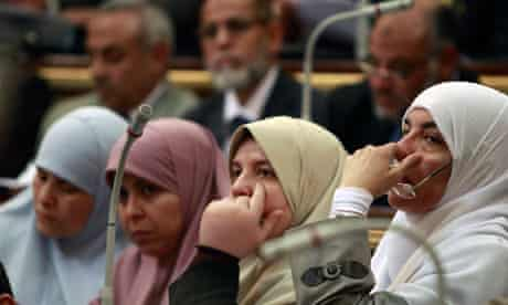 MDG : Egypt : Women Members of Parliament in Cairo