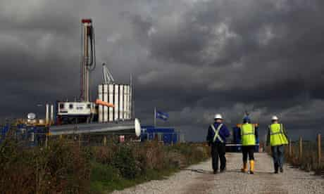 Shale gas in Lancaster near Blackpool : Cuadrilla Shale Fracking Plant