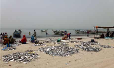 MDG : local fishing communauty on West Cioast of Africa, in Senegal and Mauritania