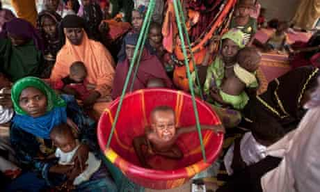 MDG : Sahel crisis : feeding center in Mao, capital of the Kanem region of Chad