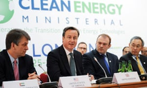 David Cameron at Clean Energy Ministerial Conference