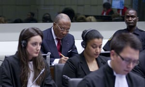 MDG : Charles Taylor at ICC in The Hague