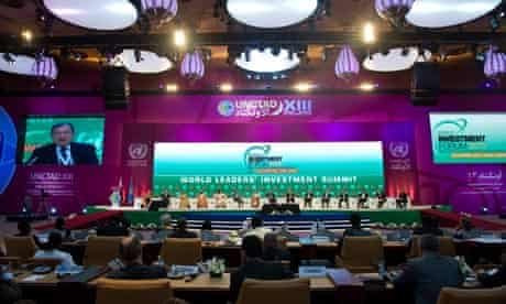 MDG : UNCTAD : UN Conference on Trade and Development in Doha, Qatar